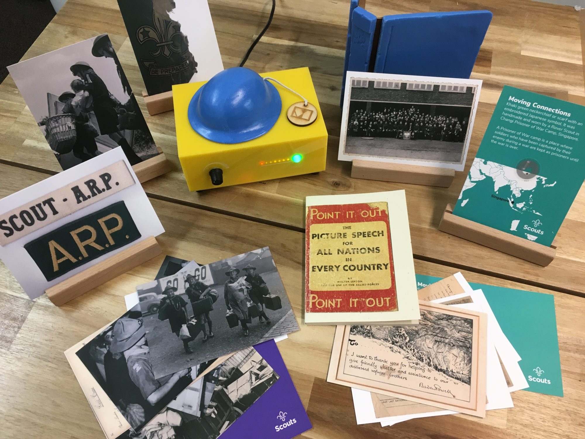 Museum in a Box – History that speaks for itself!